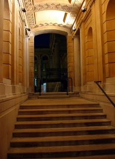 Passageway beside the Ashmolean
