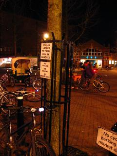 Critical Mass ride in Gloucester Green