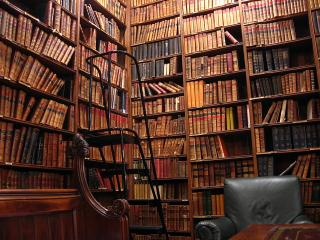 Library at the Oxford Union