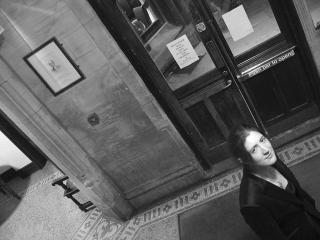 Antonia Mansel-Long in the Oxford Union