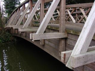 Bridge in Worcester College