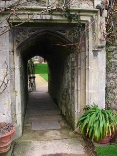 Passageway in Worcester College