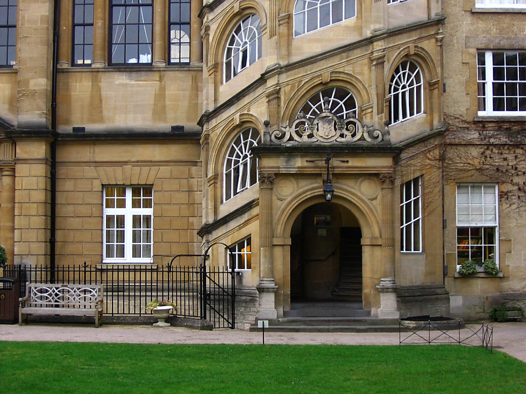 Oxford Colleges Cataloged