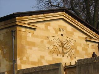Magdalen sundial