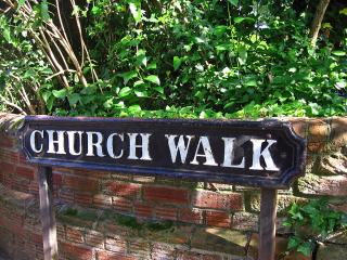 Church Walk sign