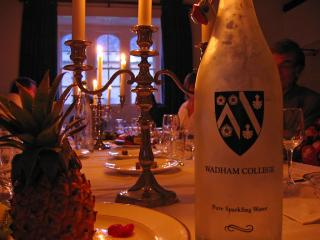 Wadham high table