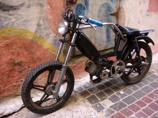 Moroccan motorcycle