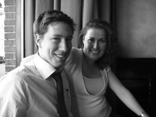 Marc Gurstein and Ashley Thorvaldson