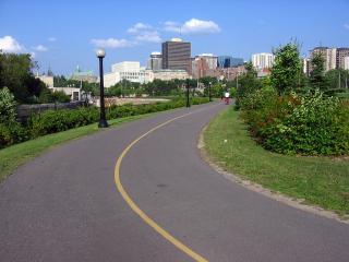 Ottawa bike path