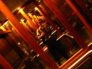 Milan Ilnyckyj in an elevator