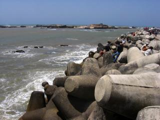 Coastal engineering in Essaouira