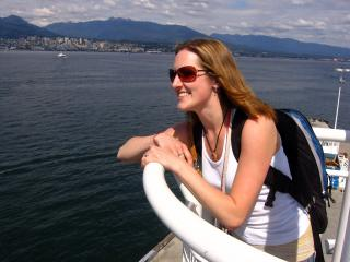 Meaghan Beattie at Canada Place