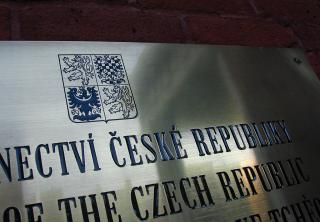 Czech Embassy plaque, Ottawa
