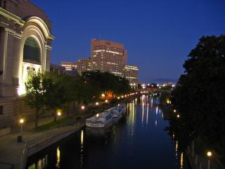 Rideau Canal and buildings
