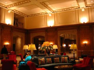 Chateau Laurier lobby