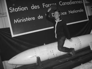Marc Gurstein rides the bomb