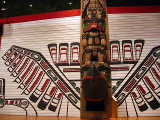 First Nations art in the Museum of Civilization