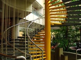 Spiral staircase, Place de Portage, Gatineau