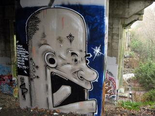 Graffiti in North Vancouver