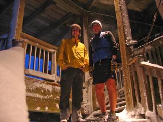 Jonathan Morissette and Oleh Ilnyckyj on Grouse Mountain