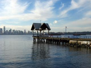 Pier in North Vancouver