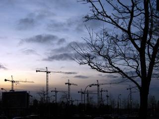 Cranes in Vancouver