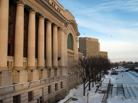 Buildings in central Ottawa