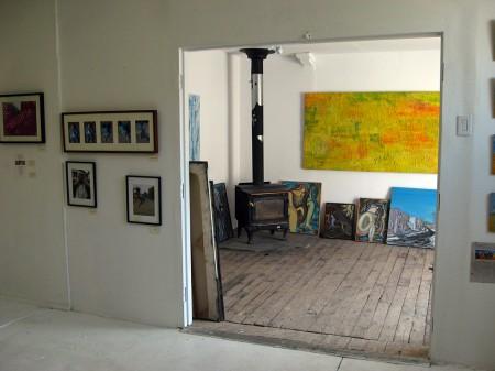 Art gallery and studio