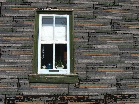 Window and siding
