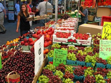 Byward Market produce, Ottawa