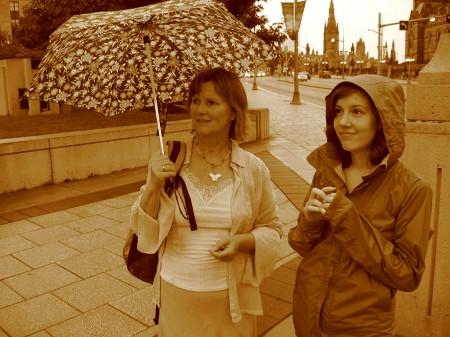 Alena Prazak and Emily Horn