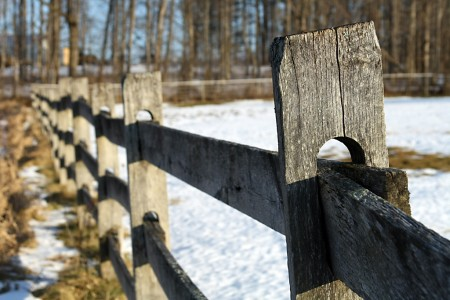 Fence in Vermont