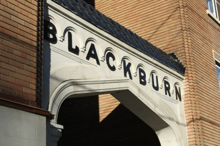 'Blackburn' sign