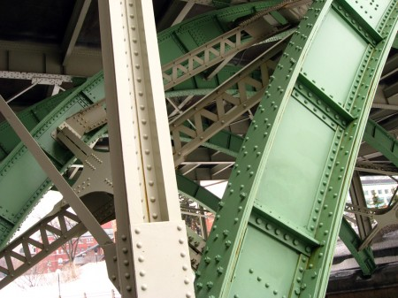 Bridge undercarriage, Ottawa