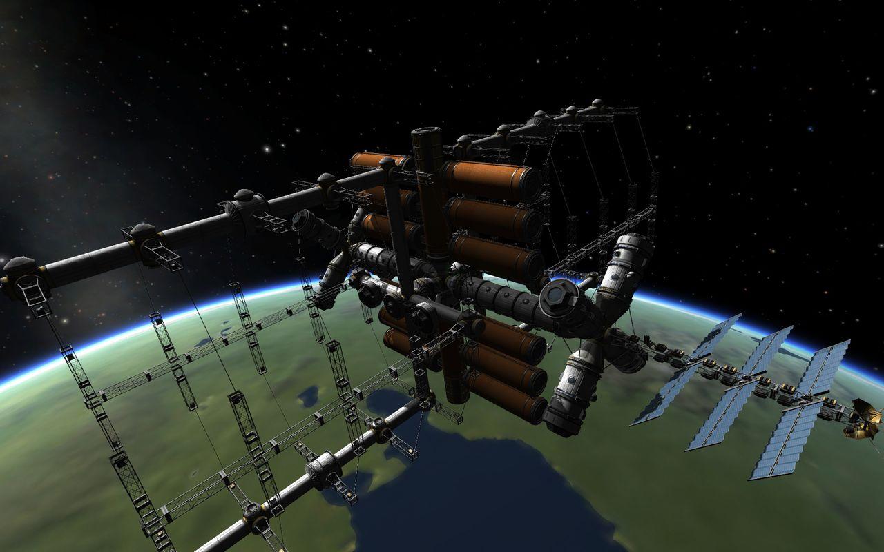 kerbal spaceport - HD1280×800