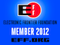 Electronic Frontier Foundation Member 2012