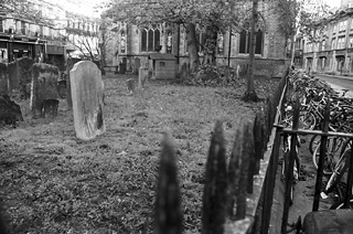 Graveyard in Oxford