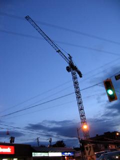 Crane in Vancouver