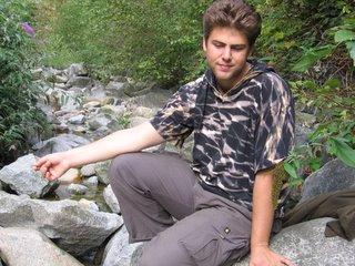 Jonathan at Mosquito Creek