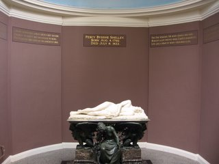 Shelley's tomb in University College