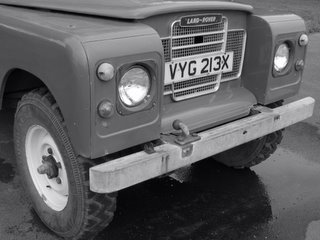 Land Rover near St. Catz