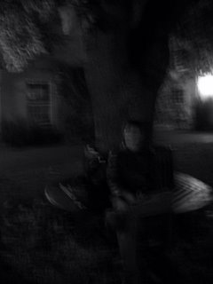 Blurry Milan in Green College. Photo by Emily Paddon