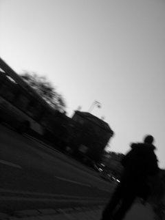 Photographer on the High Street, Oxford
