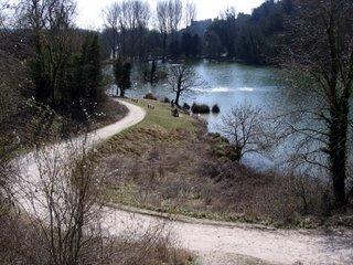 Lake near Arundel