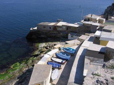 Maltese shoreline