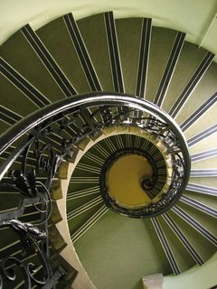 Spiral staircase in the Modern History faculty