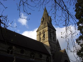 The church on whose walk we now live