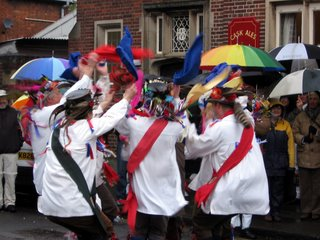 Morris Dancing on May Day