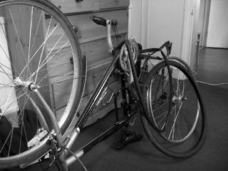 Bike in repair