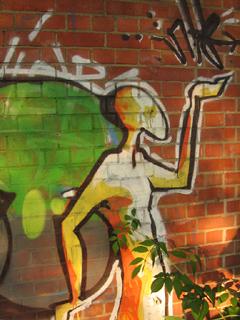 Graffiti near the Oxford Canal
